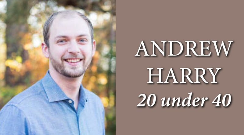 Andrew Harry 20 under 40